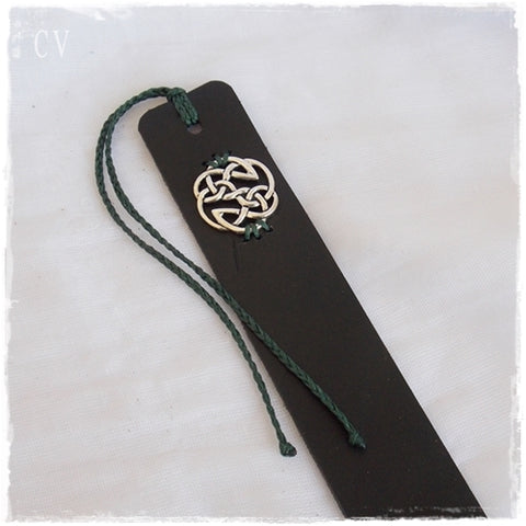 Shield of Destiny Leather Bookmark