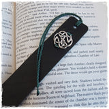 Celtic Protection Leather Bookmark