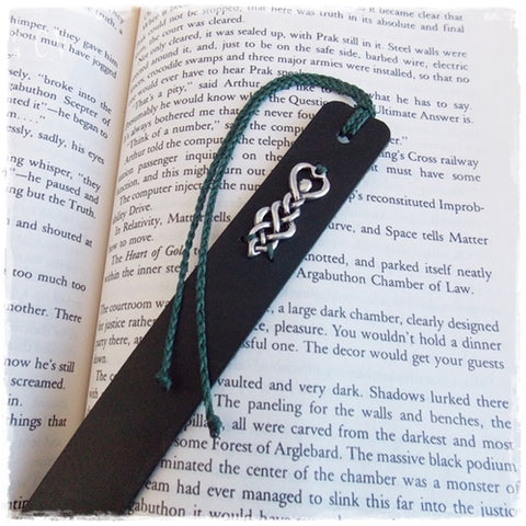 Celtic Goddess Leather Bookmark