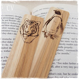 Personalized Animal Wooden Bookmarks
