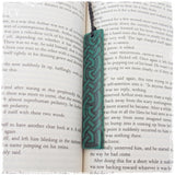 Viking Knotwork Polymer Clay Bookmark
