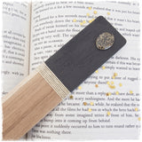 Engraved Wooden Moon Bookmark