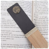 Full Moon Engraved Bookmark
