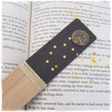 Handmade Full Moon Wooden Bookmark