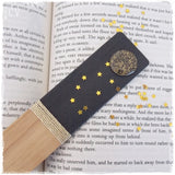 Artistic Full Moon Engraved Bookmark