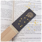 Full Moon Personalized Wooden Bookmark