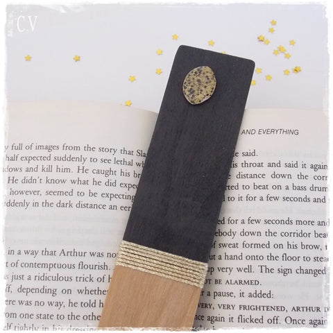 Waning Gibbous Moon Bookmark