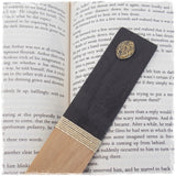 Engraved Moon Wooden Bookmark