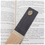 Moon Phase Personalized Wooden Bookmark