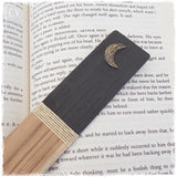 Crescent Moon Engraved Bookmark