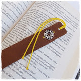 Solar Plexus Personalized Yoga Bookmark