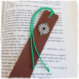 Heart Chakra Leather Bookmark