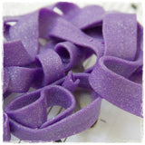 Purple Spaghetti Polymer Clay Brooch Pin
