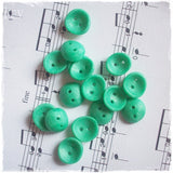 Round Mint Green Buttons
