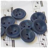 Small Navy Blue Buttons ~e