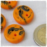 Halloween Polymer Clay Buttons  ~