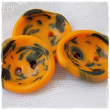 Handmade Gothic Polymer Clay Buttons