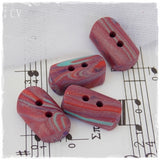Handmade Polymer Clay Toggle Buttons