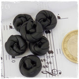 Handmade Black Buttons