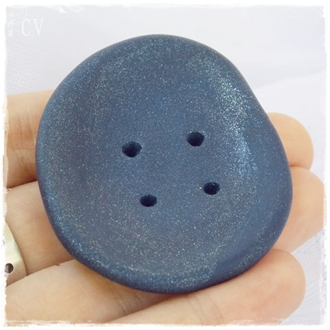 Jumbo Dark Blue Buttons