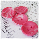 Magenta Pink Artistic Buttons *