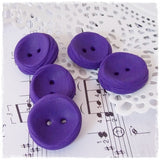 Dark Purple Large Buttons