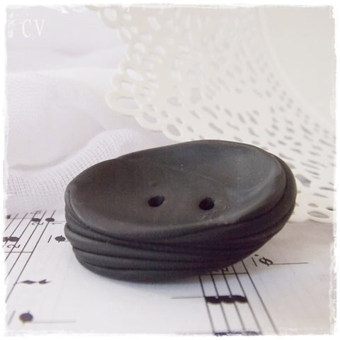 Giant Polymer Clay Button