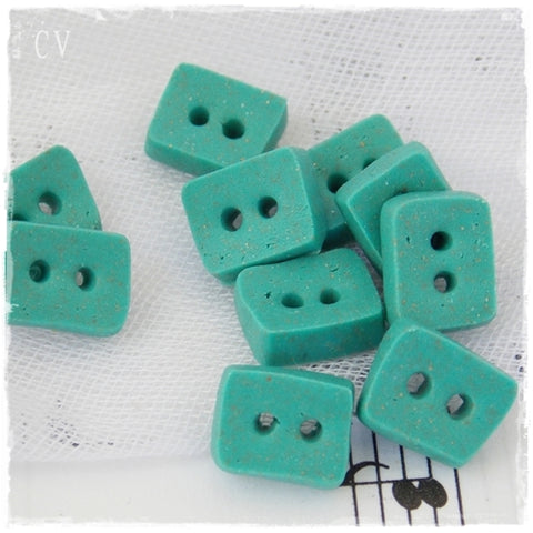 Turquoise Mini Buttons