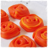 Orange Square Buttons ~