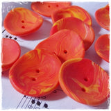 Artistic Orange Buttons