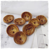 Gold Polymer Clay Buttons