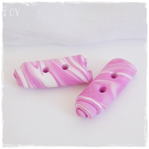 Pastel Pink Toggle Buttons