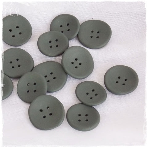 Oversized Olive Green Buttons