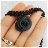 Black Rose Collar