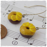 Miniature Polymer Clay Food Earrings