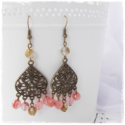 Filigree Bohemian Dangling Earrings