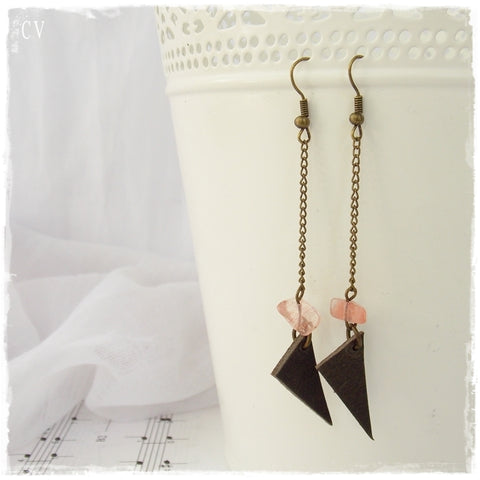 Extra Long Dainty Chain Earrings