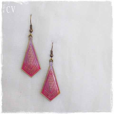 Yoga Tribal Pastel Earrings