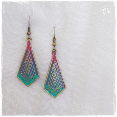 Ethnic Yoga Long Earrings