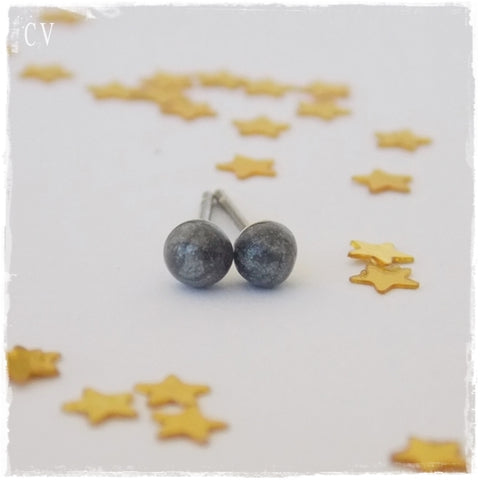 Silver Stainless Steel Studs