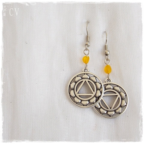 Solar Plexus Chakra Earrings