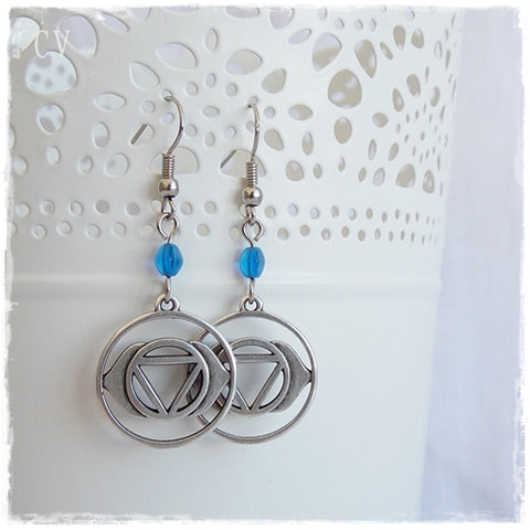 Third Eye Chakra Earrings