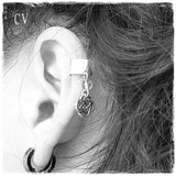 Fake Love Knot Celtic Cartilage Earring