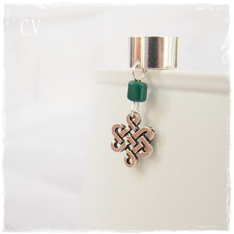 Celtic Endless Knot Ear Cuff
