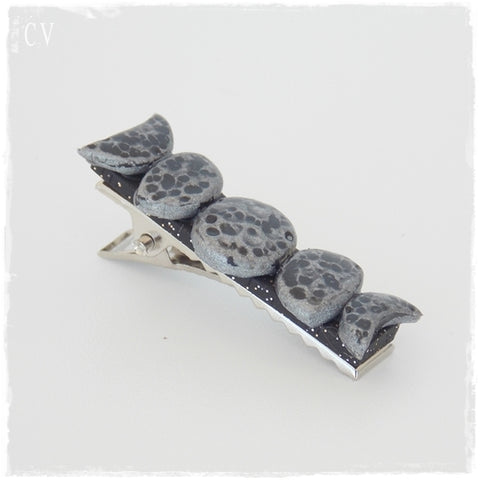 Moon Phases Alligator Clip