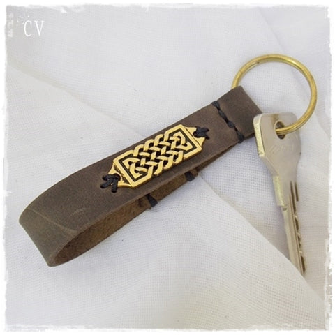 Personalized Celtic Keychain