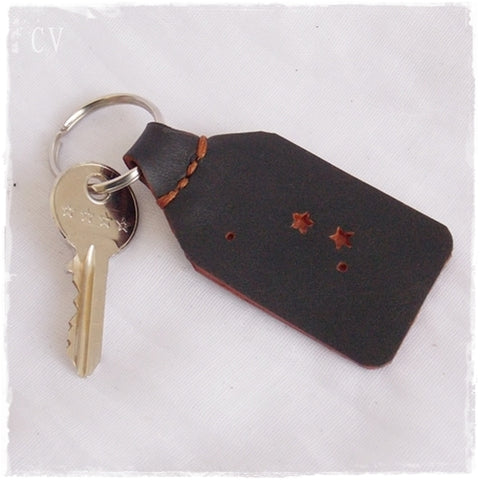 Aries Constellation Keychain