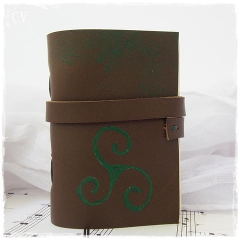 Celtic Triskele Pocket Journal