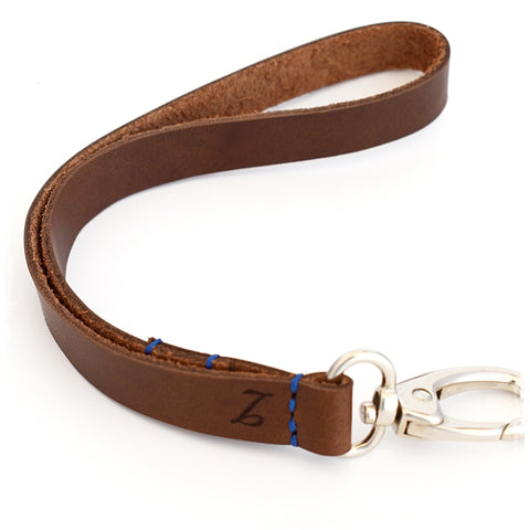 Personalized Leather Lanyard