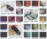 Leather Inks - Color Chart - C2V